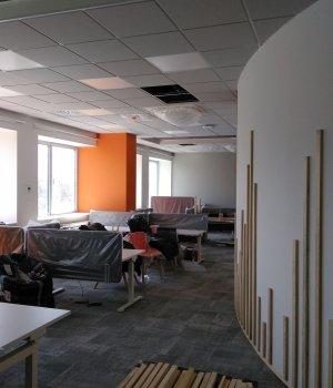 Przebudowa budynku biurowego BA1