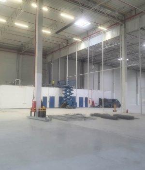 Przebudowa hali nr 7 dla P3