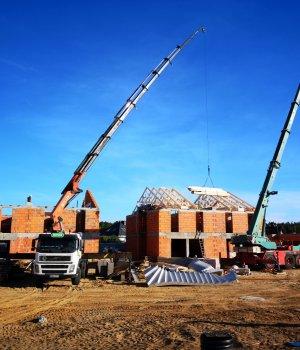 Budowa osiedla Nowe Złotniki etap III