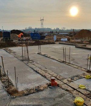 Budowa osiedla Nowe Złotniki etap IV