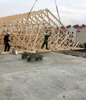 Budowa budynku handlowo-usługowego