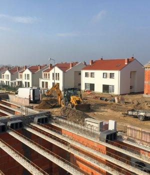 Budowa osiedla Nowe Złotniki etap II